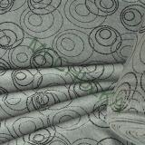 9130fde793ee Kroužky bubliny šedý melír elastická teplákovina nepočesaná